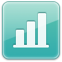 icon of bar graph